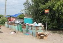 Карталинцы оставляют мусор около контейнеров